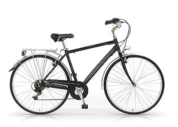 MBM Central - Bicicleta de Paseo para Hombre de 6 velocidades, Cuadro de Aluminio 606