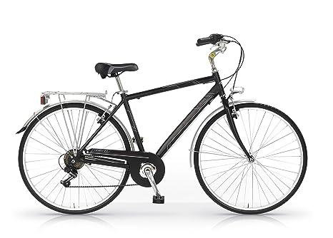 MBM Central - Bicicleta de Paseo para Hombre de 6 velocidades ...