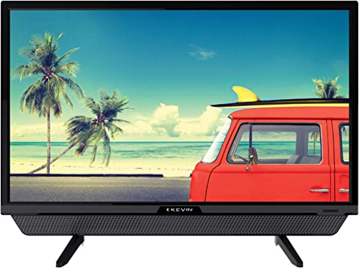 24 Inches Kevin HD Ready LED TV KN24832, With Inbuilt Soundbar (Black)