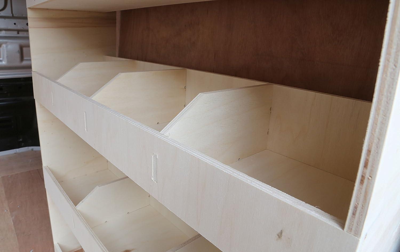 NS Rear Plywood Racking shelving Trafic SWB 2015