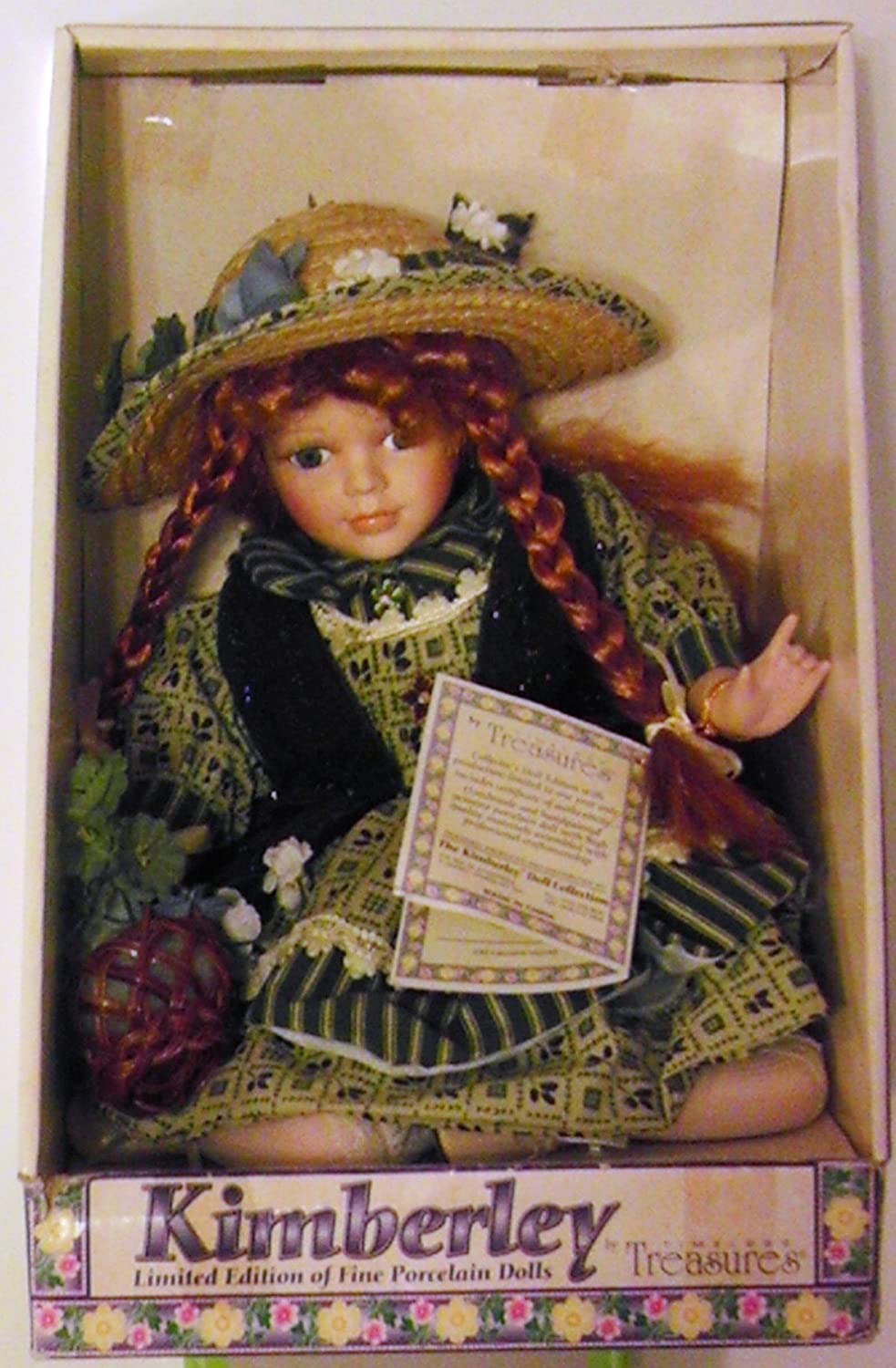 Amazon.com: Kimberley Limited Edition of Fine Porcelain Doll: Home