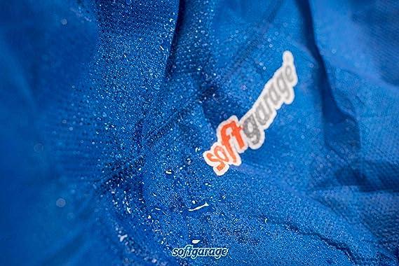 Softgarage 3 Lagig Blau Indoor Outdoor Atmungsaktiv Wasserabweisend Car Cover Vollgarage Ganzgarage Autoplane Autoabdeckung 101030 0710336 Auto