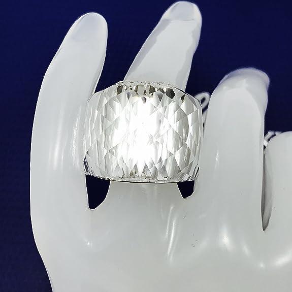 426fe066b Swarovski Nirvana Clear crystal silver plated ring 846393, UK P 1/2,  (Manufacturer size: 58 Large) (US 8): Amazon.co.uk: Jewellery