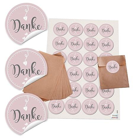 24 Kleine marrón bolsas de papel para Give de aways ...