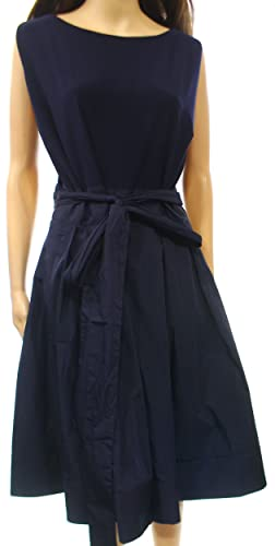 Lauren Ralph Lauren Navy Women's Plus Sheath Dress Blue 16W