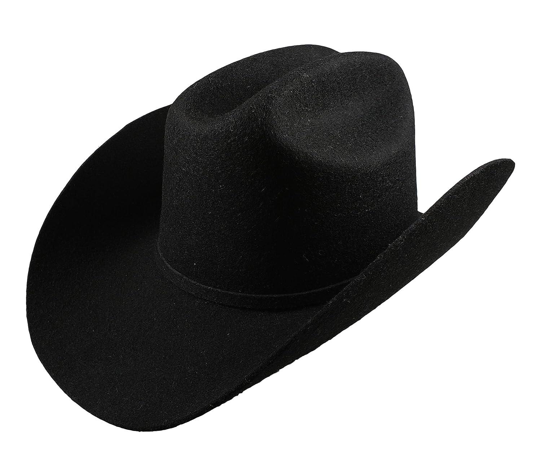bfce68f5 El General Men's Cowboy Hat Texana 5X Horma Durangense Color Black Wool at Amazon  Men's Clothing store: