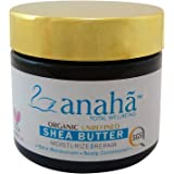 Anaha Organic Unrefined Raw Shea Butter, Off White, 40g