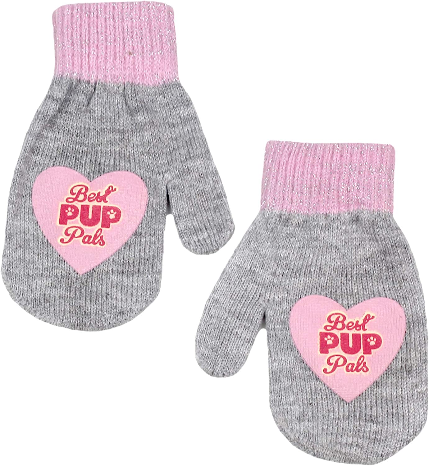 Nickelodeon Paw Patrol Boys Girls Beanie Hat and Mittens Set Toddler