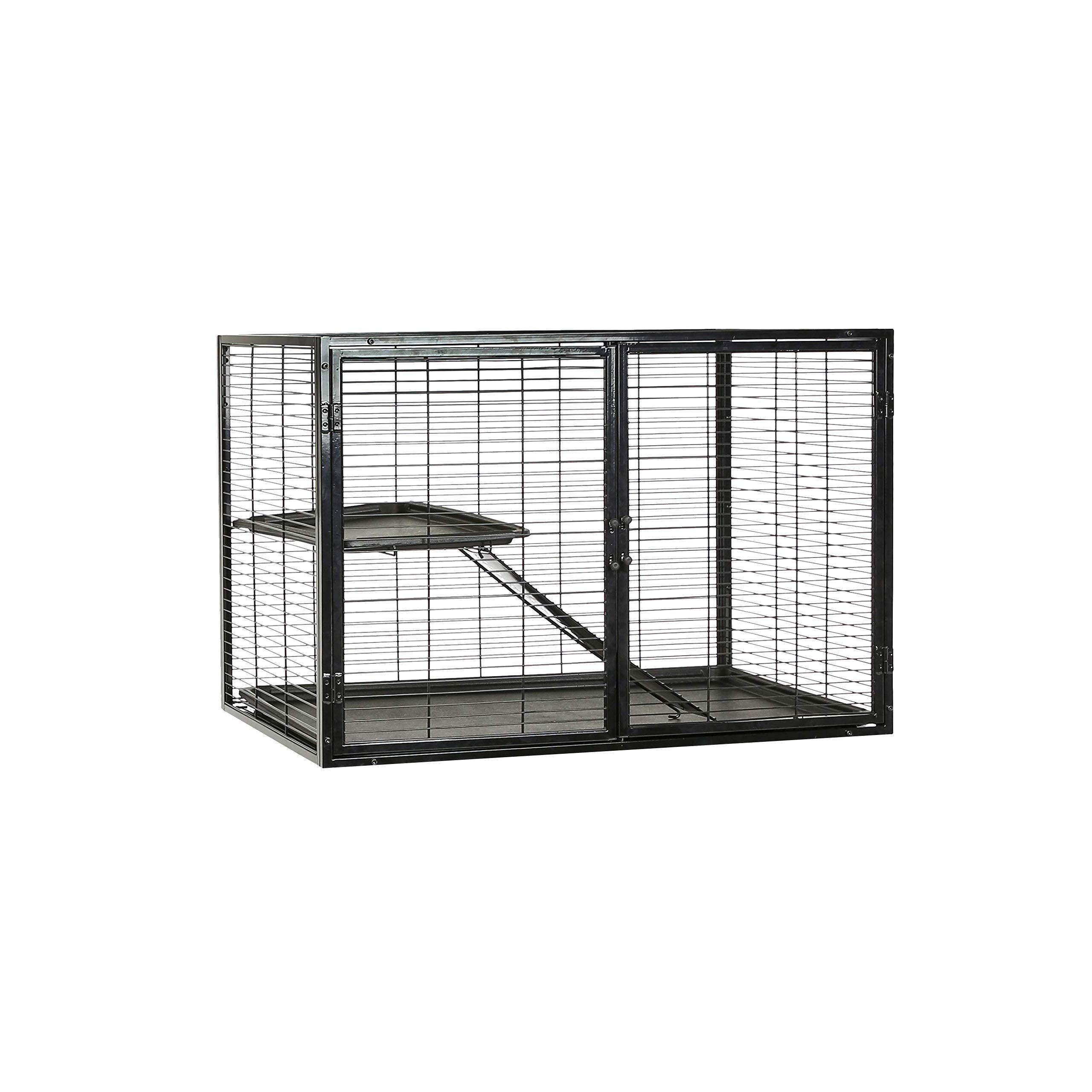 AmazonBasics Small Animal Metal Pet Cage Add On - 36 x 25 x 23 Inches by AmazonBasics