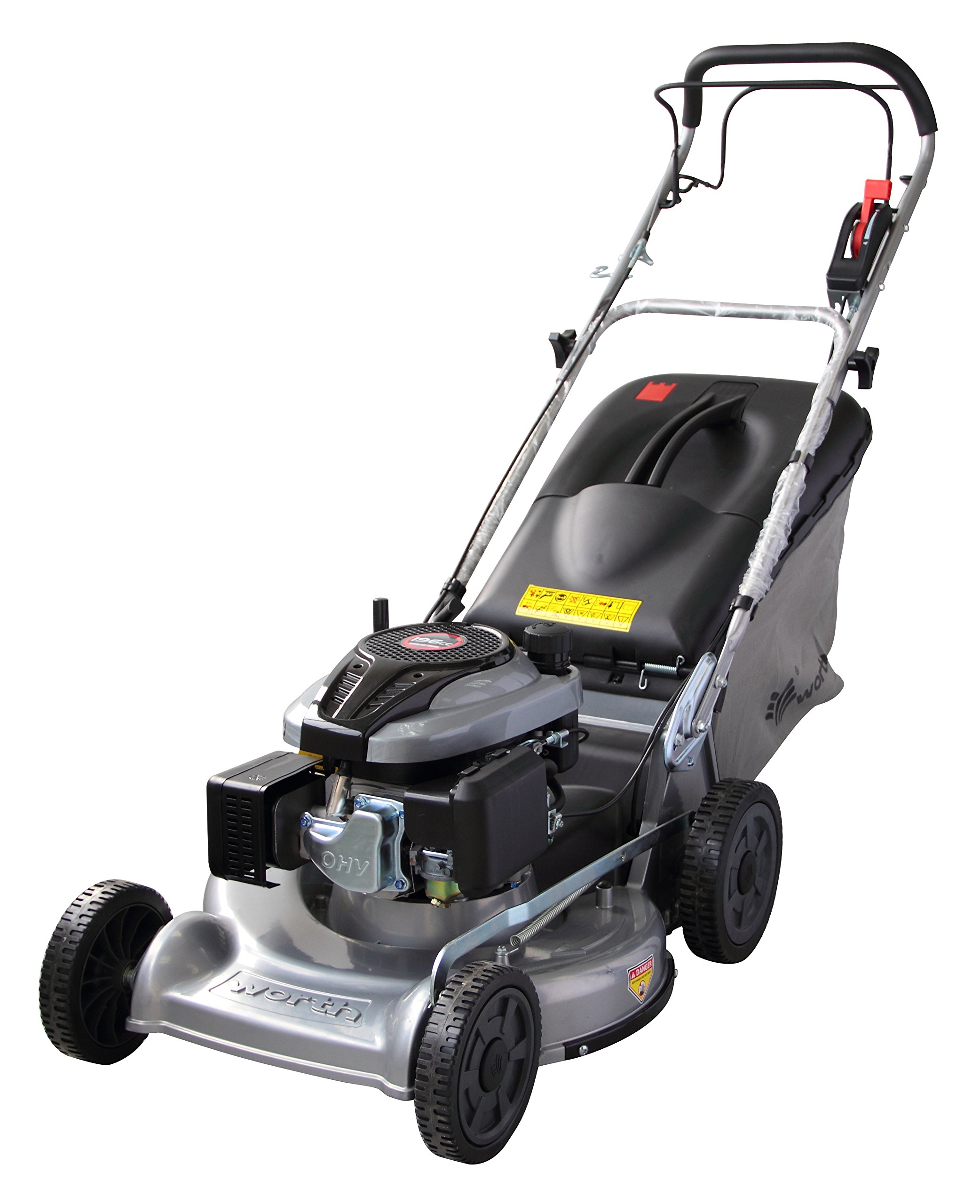 Worth Garden #1879 21'' Aluminum Deck Self Propelled 196 CC Gas Powered Lawn Mower