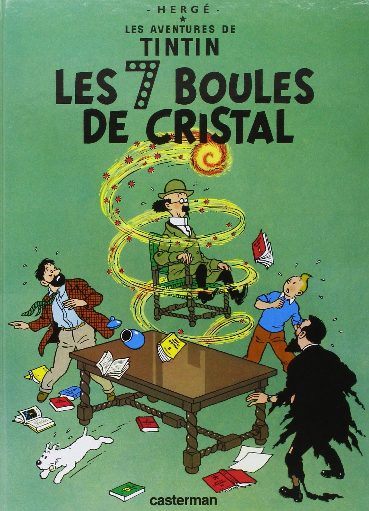 Les Aventures de Tintin, Tome 13 : Les sept boules de cristal Relié – 4 mai 1993 Hergé Casterman 2203001127 Children: Grades 4-6