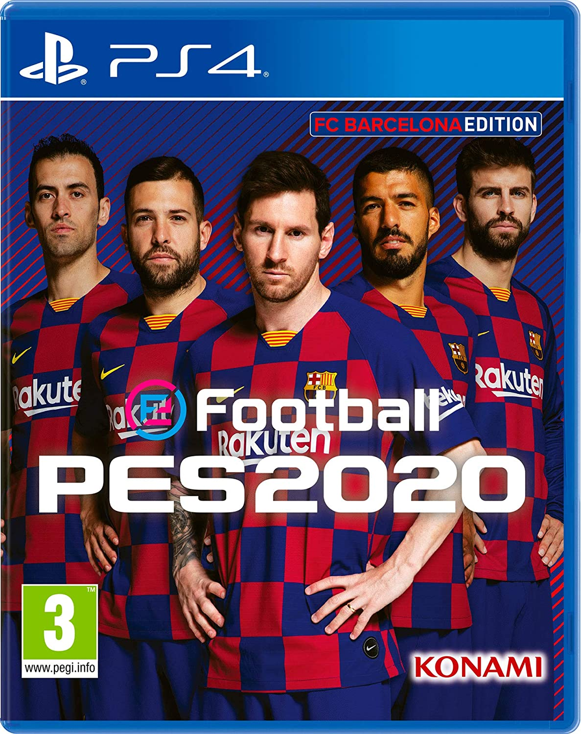 eFootball Pro Evolution Soccer 2020 - Edición FC Barcelona: Amazon ...