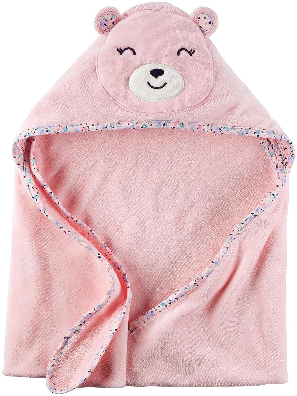 Carter's Hooded Bath Towel - Little Bear - Pink Carter's 126G391