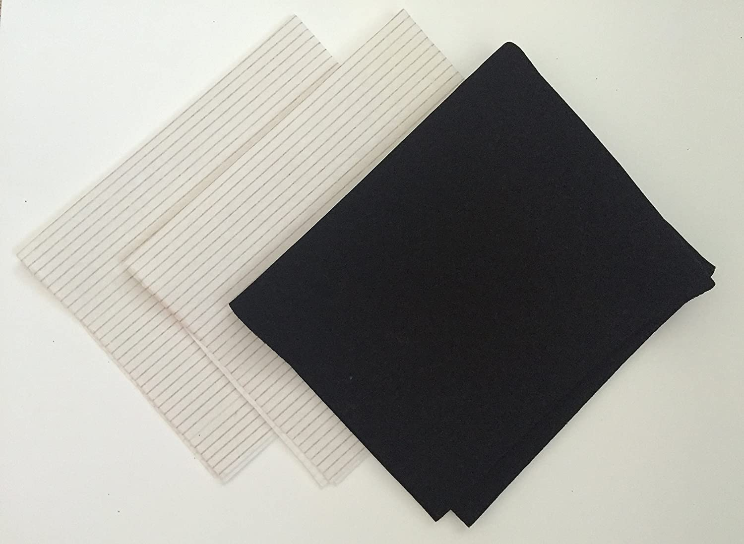 Grease and Carbon Set Cooker Hood Filter - Cut to Size - Vent Filters for Bosch, Neff, Candy, Hotpoint, Stoves and More Filterwise