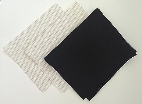 Fett und carbon set dunstabzugshaube filter u zuschneidbar u vent