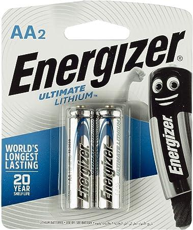 20 X Aa Energizer Litio Ultimate Cámara Baterías