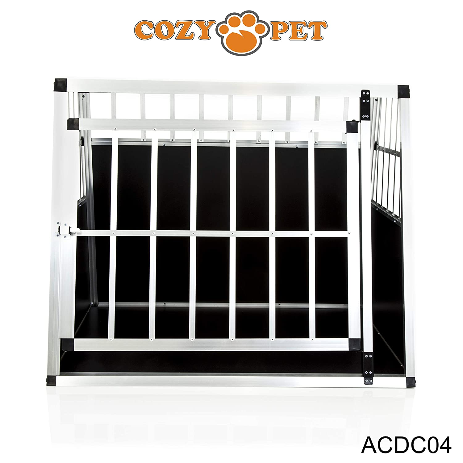 We do not ship to Northern Ireland, Scottish Highlands /& Islands, Channel Islands, IOM IOW. Cozy Pet Aluminium Car Dog Cage 6 Travel Puppy Crate Pet Carrier Transport Model ACDC03.