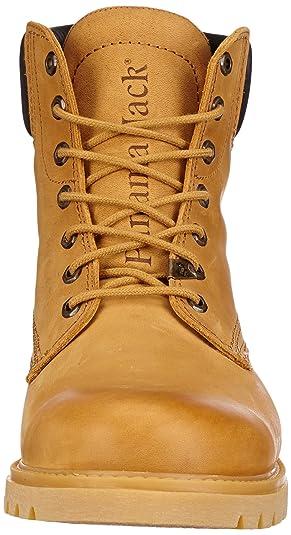 Panama Jack Panama 03 H1 - Náuticos de cuero hombre, color amarillo, talla 50: Amazon.es: Zapatos y complementos