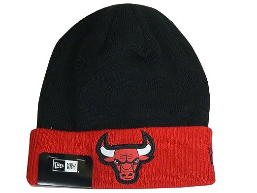 Fanartikel New Era Nba Chicago Bulls Team Skull Knit Wintermütze