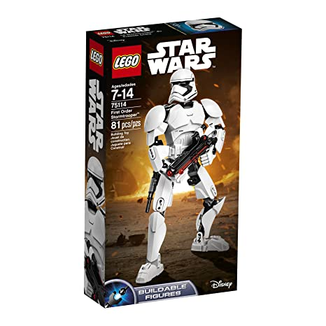 Amazoncom Lego Star Wars First Order Stormtrooper 75114 Popular