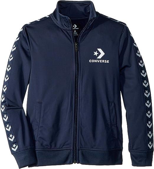 Converse Boys Tricot Taping Track Jacket: Amazon.co.uk: Clothing