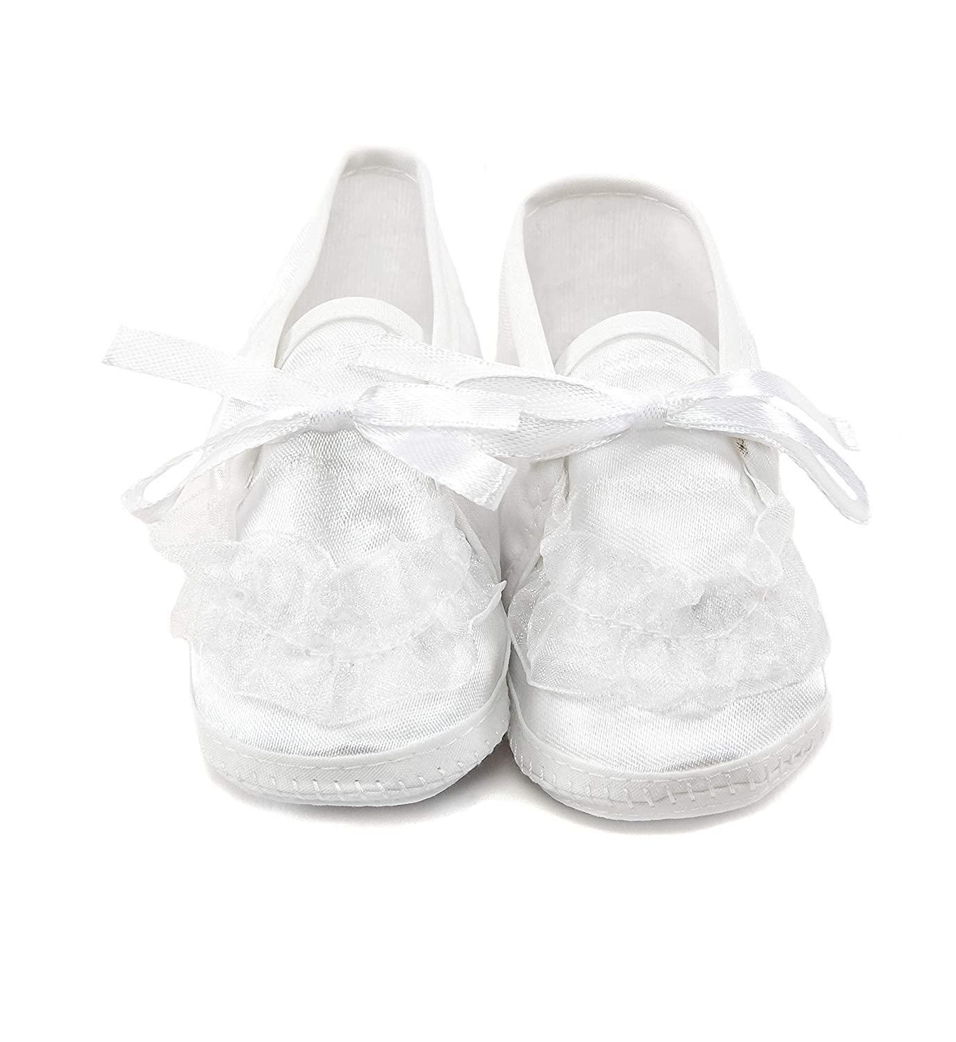 Simply Gloryous White Lace Booties