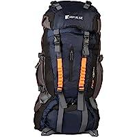 Impulse 85 Ltrs Blue Trekking Backpack (Thames N Blue)
