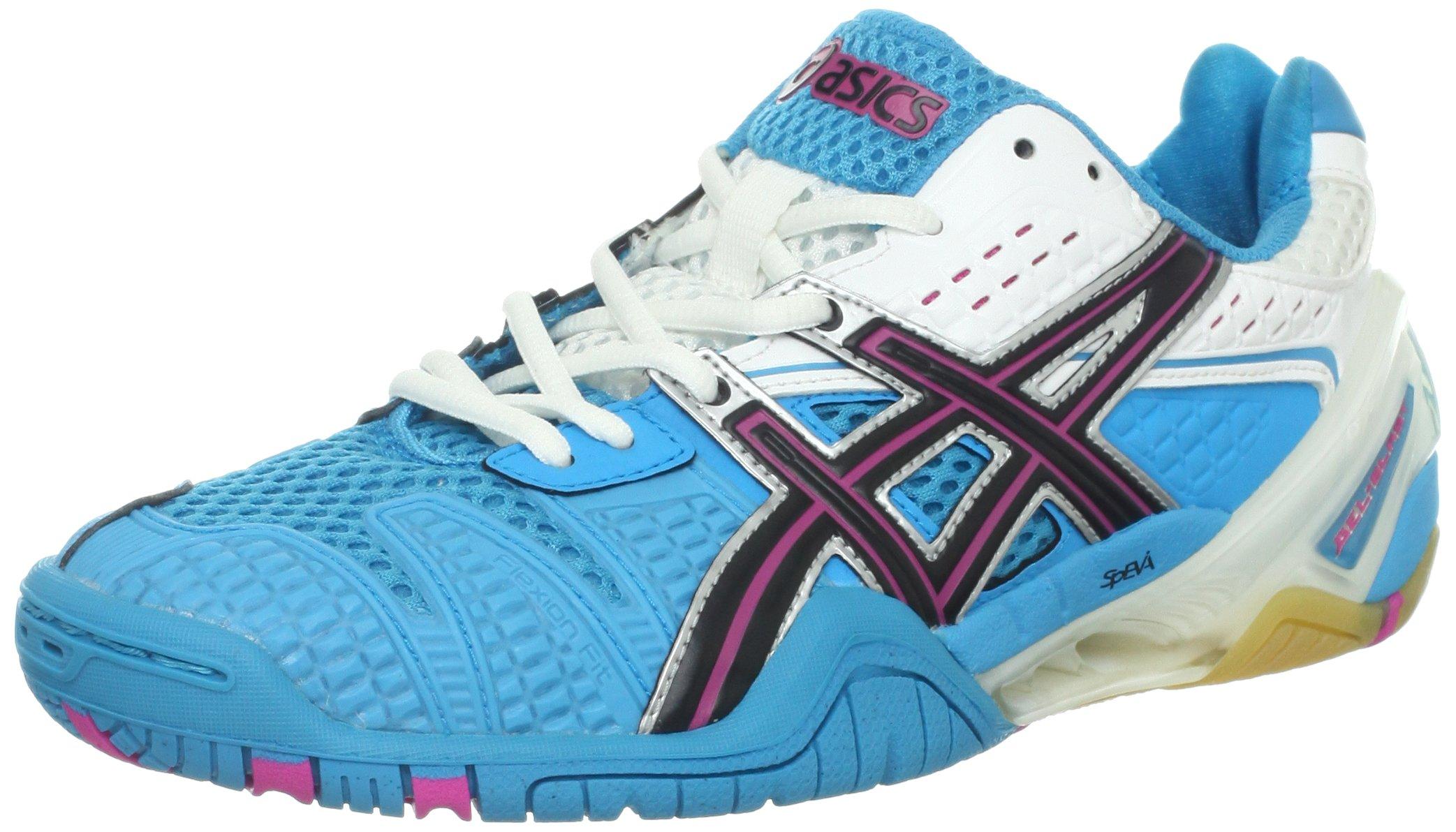ASICS Women's GEL-Blast 5 Shoe,Ocean Blue/Black/White,8 M US