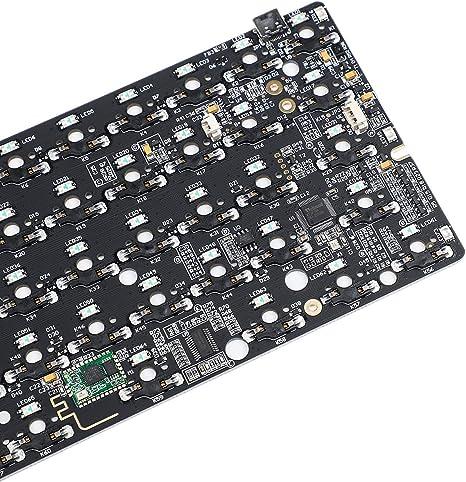 GK64 GK64S - Kit de teclado para PC (plástico, aluminio, CNC, Bluetooth, placa PCB cableada): Amazon.es: Electrónica