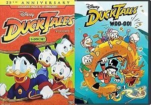 Ducks at The Underwater city of Atlantis! Disney Adventure Cartoons DuckTales Woo-Oo! DVD + Animated Series Vol. 2 Set 2 pack cartoon family fun!