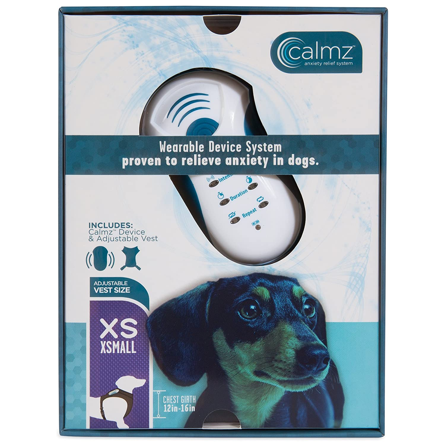 Petmate Calmz Anxiety Relief System for Dogs, X-Small PET PRODUCTS