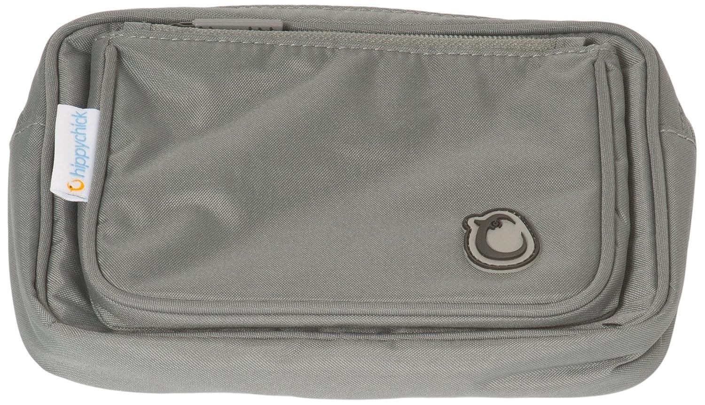 Hippychick - Tasca accessoria per marsupio porta-bebè, colore: Grigio HCHIPACC009