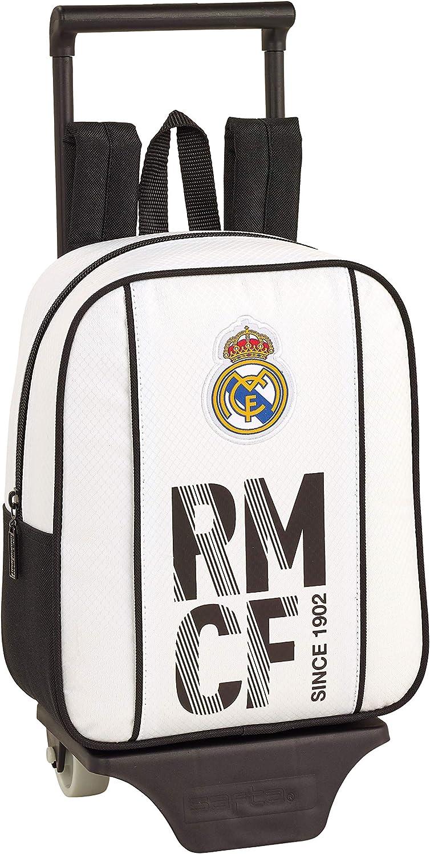Real Madrid CF 611854280 niños Equipaje, Blanco, 28 cm