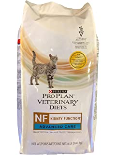 Purina Pro Plan Veterinary Diets 17888 Ppvd Feline Nf Advn Care Cat Food, 8 lb