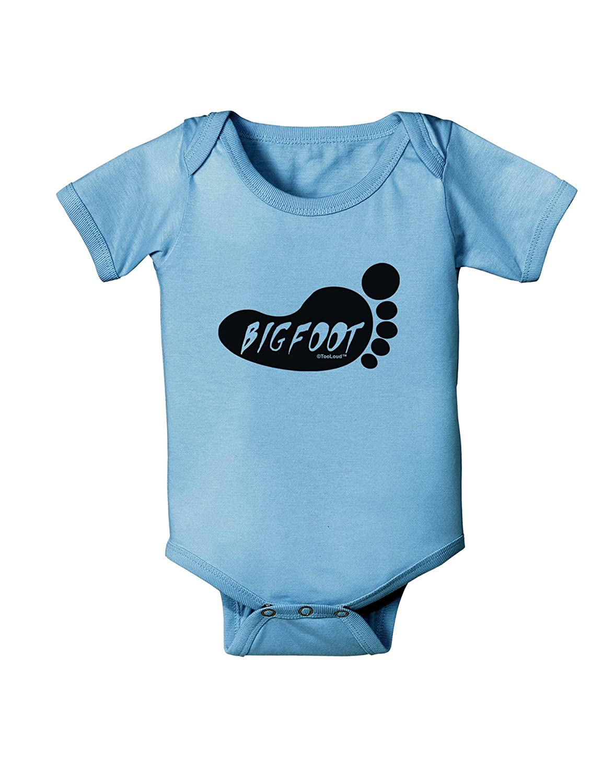TooLoud Bigfoot Baby Romper Bodysuit