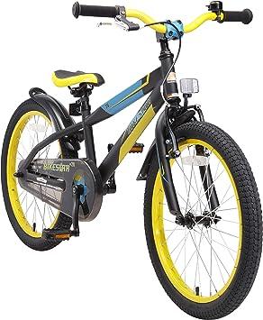 BIKESTAR Bicicleta Infantil para niños y niñas a Partir de 6 años ...