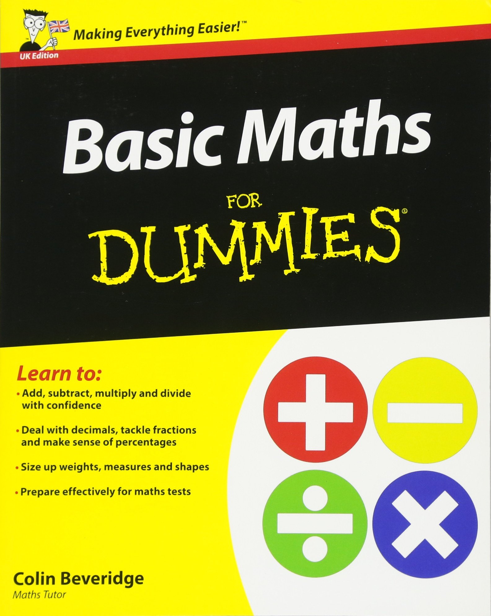 Buy Basic Maths For Dummies Book Online at Low Prices in India | Basic  Maths For Dummies Reviews & Ratings - Amazon.in