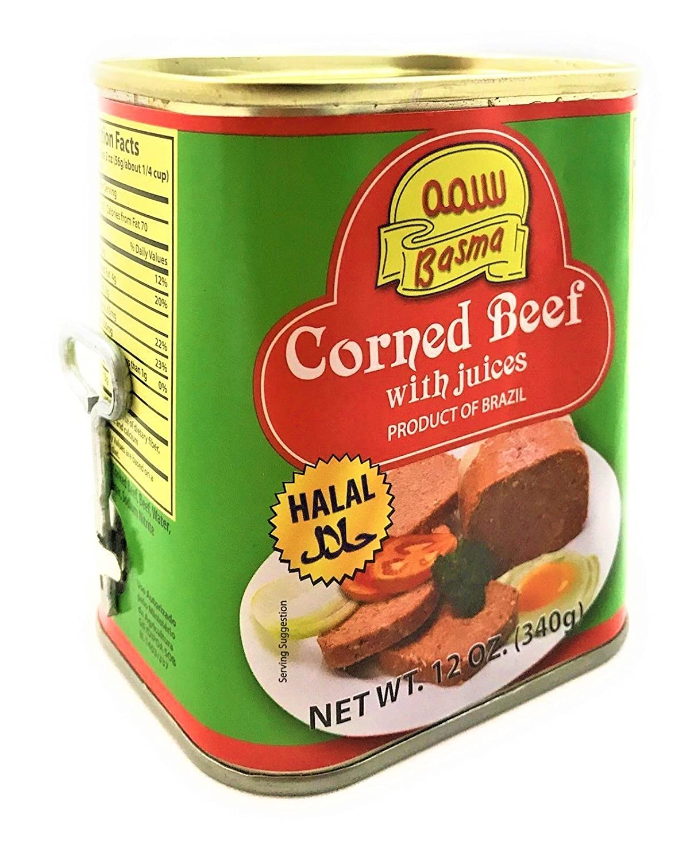 Basma Halal Canned Corned Beef - 12oz