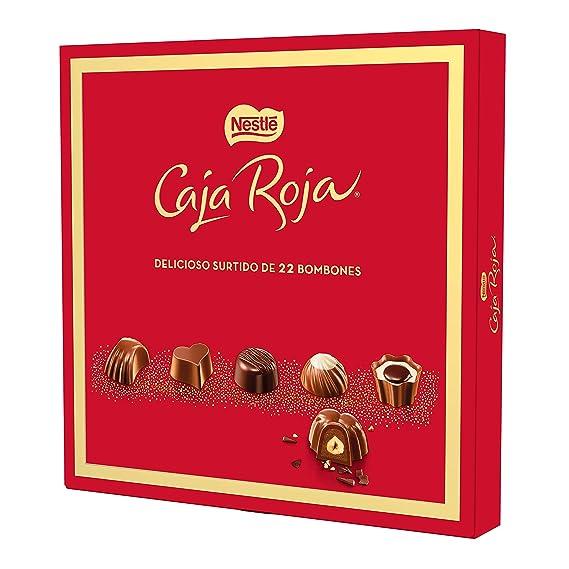 Nestlé Caja Roja, bombones de chocolate surtidos, 8 estuches ...