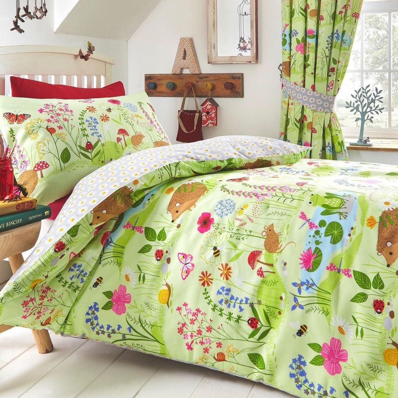 Animals Kids Club Bluebell Woods Single Duvet Cover Set by Animals (Image #1)