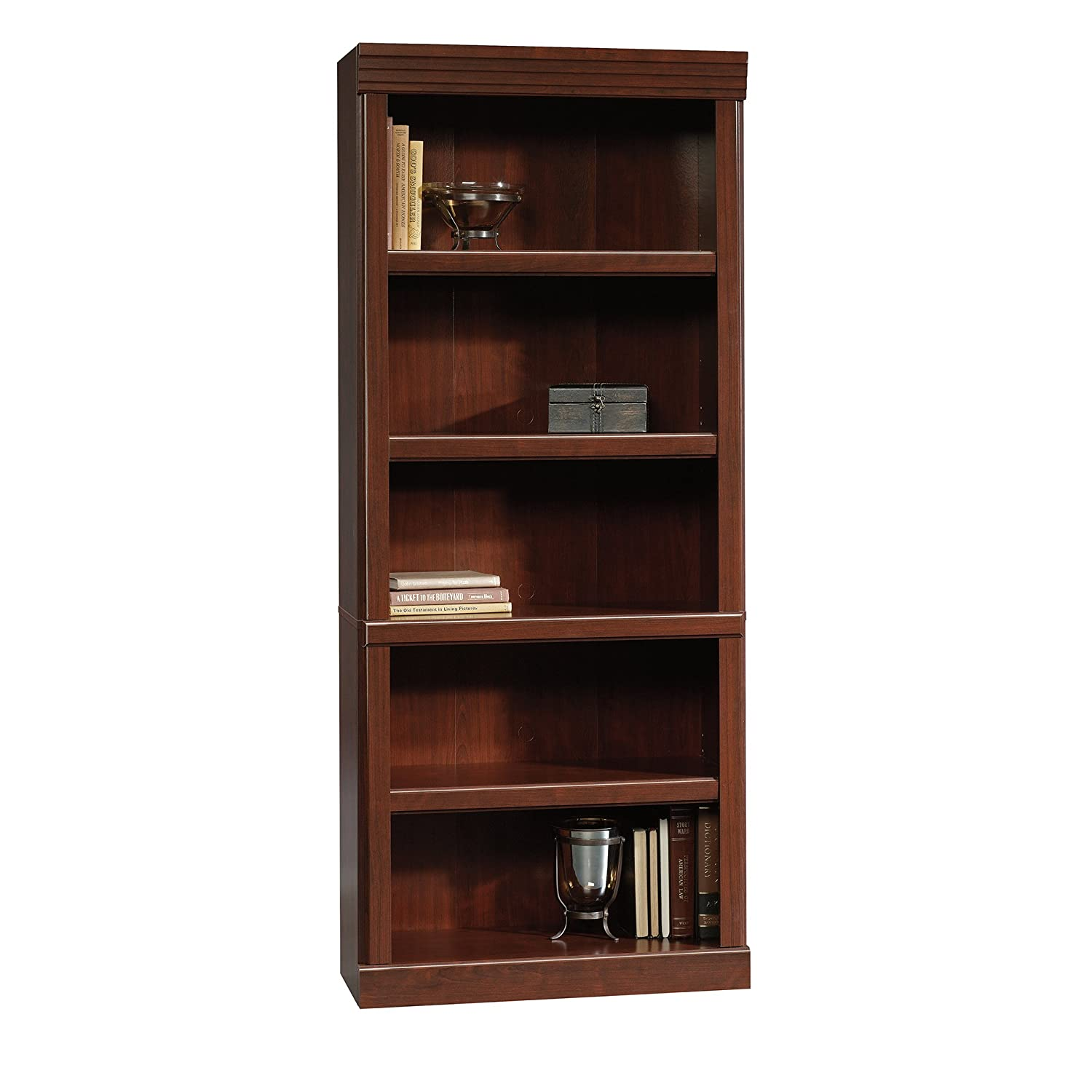 enclosed tall of lane bookcases sauder bookcase storage with inspirations barrister
