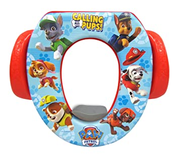 Brilliant Nickelodeon Paw Patrolcalling All Pups Soft Potty Seat Ncnpc Chair Design For Home Ncnpcorg