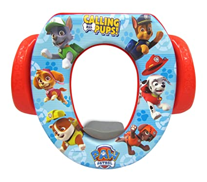 Amazon.com : Nickelodeon Bubble Guppies Soft Potty Seat : Toilet Training  Seat Covers : Baby