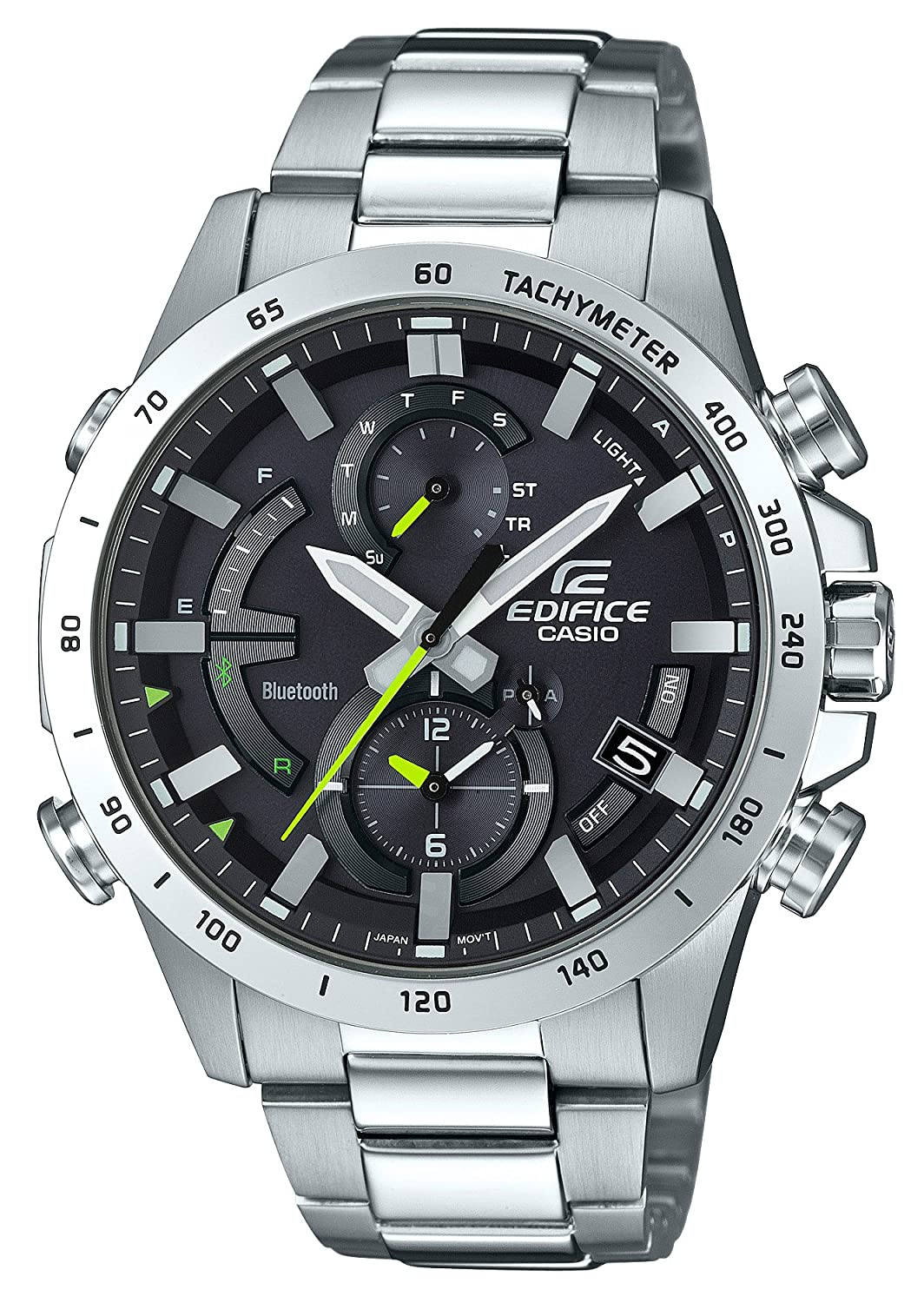 dca43eed9c9e Amazon.com  EDIFICE EQB-900D-1AJF  Solar watch with Bluetooth  Japan  Import  Watches