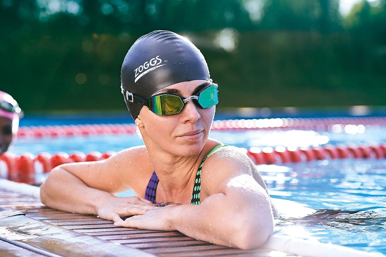 Zoggs Erwachsene Badekappe Swim Cap Silikon One Size