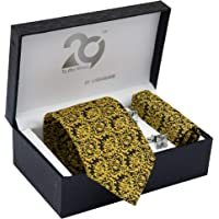 To The Nines Men's Tie, Pocket Square & Cuff links Set