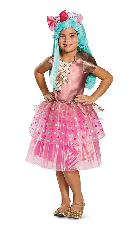 Girls Shopkins Jessicake Blue Costume Wig