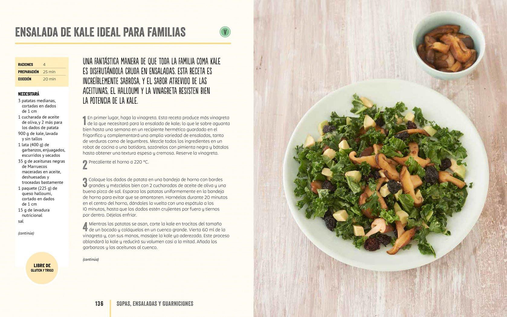 Kale: La col rizada en más de 100 saludables recetas (Spanish Edition): Kristen Beddard, Karen Burns-Booth, Carolyn Cope, Jassy Davis, Kristina Sloggett: ...