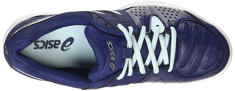 ASICS Damen 5001) Gel-Dedicate 4 Tennisschuhe Blau (Indigo Blau/Weiß/Crystal Blau 5001) Damen 7caac7