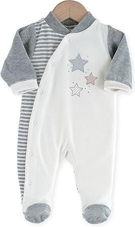 Kinousses 810 2096 pijama para bebé, de terciopelo, diseño de ...